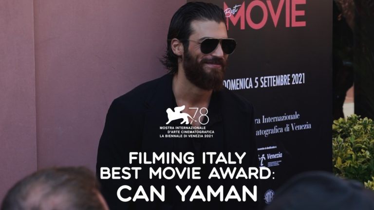 Filming Italy Best Movie Awards Can Yaman
